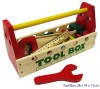 TOOL BOX W/WOOD TOOLS
