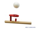 BALL BLOWER WOODEN W/2 BALLS