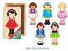 DRESS UP GIRL 18PC