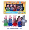 5PC FINGER PUPPET - 3 PIGS
