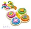 VIGA TOYS - SHAPE PUZZLE - BUTTERFLY