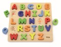 **NEW**VIGA TOYS - BLOCK ALPHABET UPPERCASE PUZZLE