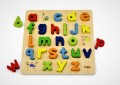 **NEW** VIGA TOYS - BLOCK PUZZLES- ALPHABET LOWER CASE